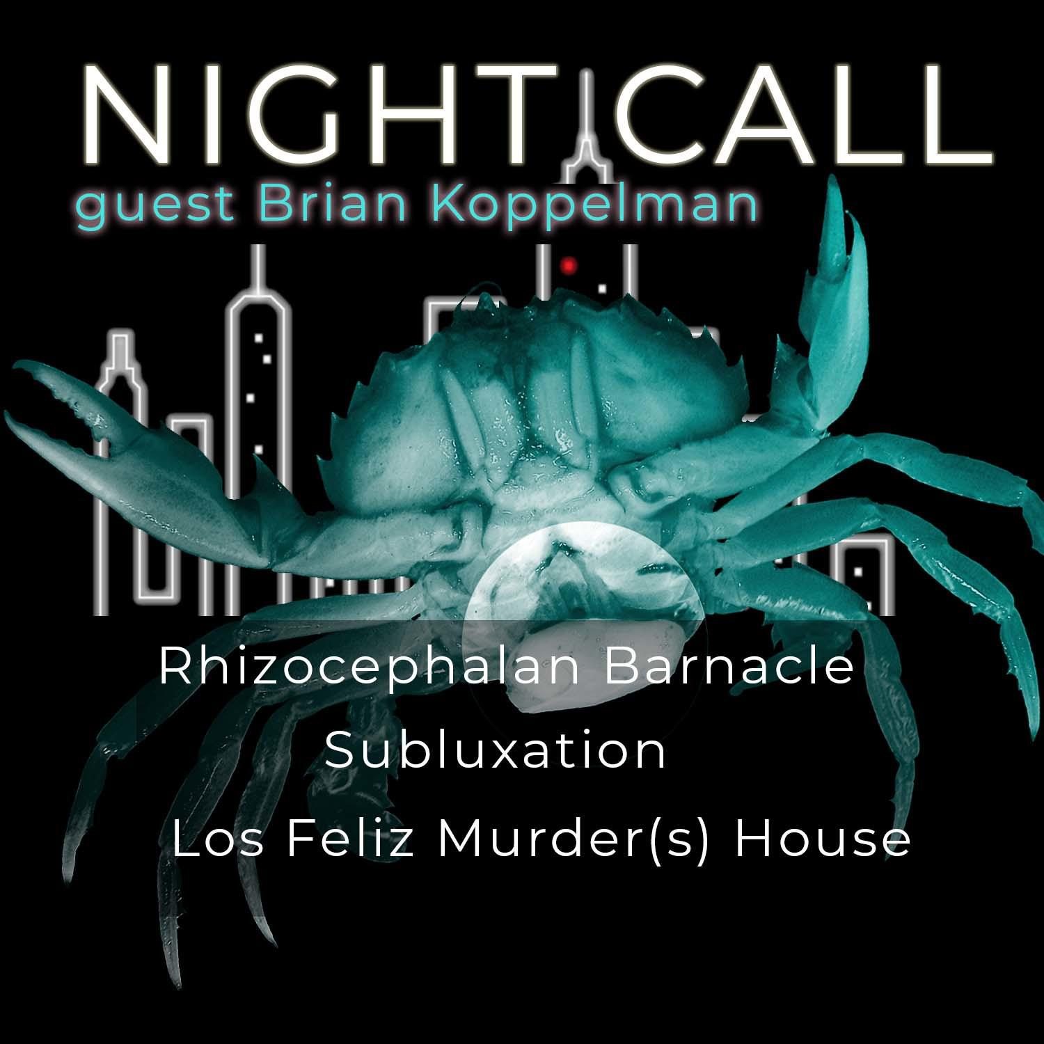 68: Parasitic Barnacles, Haunted Murder Houses, and Chriopractic Cults with Brian Koppelman