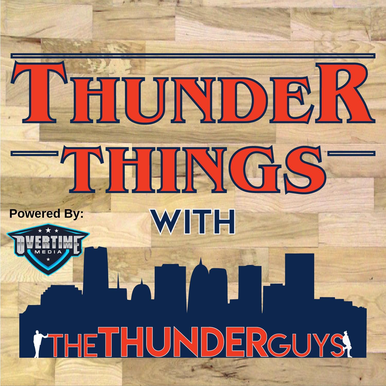 timeless design 87726 c281e Thunder Things with the Thunder Guys: Oklahoma City Thunder ...